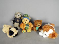 keel Toys, Aurora and other - three Keel Toys comprising a Bulldog,