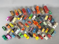Corgi, Matchbox, Spot-On, Husky - A collection of unboxed diecast in various scales.