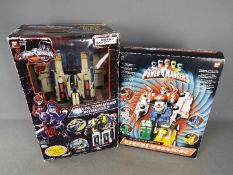 Ban-Dai - Power Rangers - 2 boxed Power Rangers sets including Delta Command Megazord and Rescue