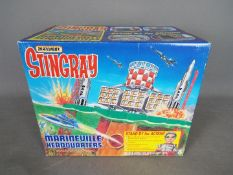 Matchbox - A boxed Stingray Marineville Headquarters Action Playset.