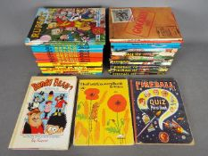 Collins Fireball XL5, Stingray TV Century 21, Others - A collection of vintage children's annuals.