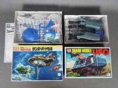 IMAI - Two boxed TV Themed plastic model kits by IMAI.