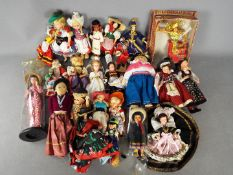 Sabra, Others - A collection of over 20 mainly unboxed International vintage costume dolls,