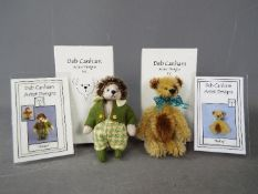 Deb Canham Artist Designs - a Deb Canham Hedgehog entitled Horace issued in a limited edition of