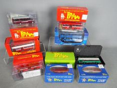 Britbus - Creative Master - A fleet of 8 boxed 1:76 scale buses including Merseyside P.T.