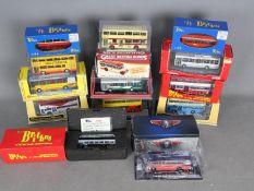Corgi - Britbus - Collectors Model - A fleet of 14 boxed bus models in 1:76 scale including Britbus