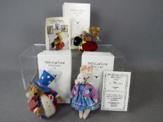 Deb Canham Artist Designs - A Deb Canham bunny named Clover number 78 of 150 in Mint condition in