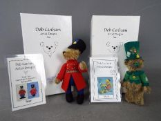 Deb Canham Artist Designs - a Deb Canham bear entitled Patrick issued in a limited edition of 500,