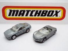 Matchbox - Two 'First Shot' Matchbox diecast vehicles.