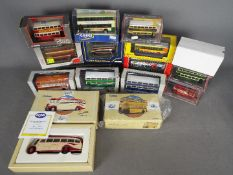 Corgi - Gilbow - A collection of 14 boxed bus and tram models in several scales including Corgi #