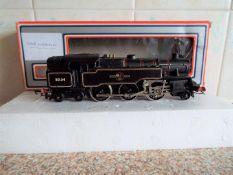 Wrenn - an OO gauge diecast standard tank locomotive, BR black livery 2-6-4 op no 80104 # W2218A,