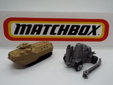 Matchbox - Two resin 'Prototype and Pre-Production' models by Matchbox.