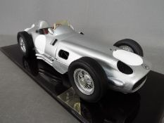 Javan Smith - a hand built 1:8 scale replica model of a Mercedes W196 with full cockpit detail,
