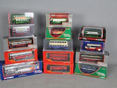 Corgi - Original Omnibus - A collection of 14 boxed 1:76 scale bus models including # OM40404