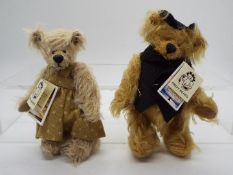 Hardy Bears - June Kendall limited edition Ross Poldark mohair bear number 5 of only 8 made,