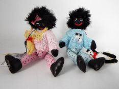 Teddy Bears Of Witney - Gill Allpress limited edition Pickle and Panda gollie number 3 of 5 made in
