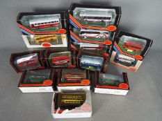 EFE - A collection of 14 boxed bus models in 1:76 scale including # 26603 Plymouth City Plaxton