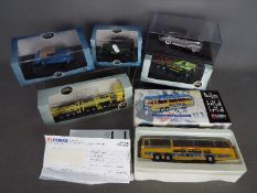 Oxford Diecast - Corgi - A group of 6 boxed Oxford and Corgi vehicles in various scales including