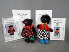Deb Canham Artist Designs - a Deb Canham bear entitled Chilli Peppers issued in a limited edition