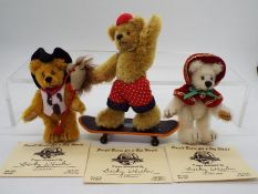 Small Bears For A Big World - Becky Wheeler bear named Winter in Mint condition with certificate
