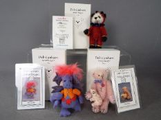 Deb Canham Artist Designs - Deb Canham bear named Cheeky Devil number 103 of 200 in Mint condition