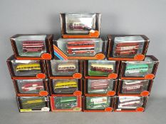 EFE - A collection of 16 boxed 1:76 scale bus and truck models including,