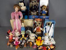 Walt Disney, Meerkats, Franklin Mint - A collection of modern Disney related toys, figures,