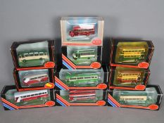 EFE - A group of 10 boxed 1:76 scale buses including # 20416 Maidstone and District Bristol VR,