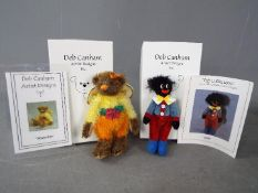 Deb Canham Artist Designs - a Deb Canham bear entitled November issued in a limited edition of 50,