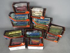 EFE - A lot of 12 boxed 1:76 scake EFE bus models including # 22501 Premier Travel AEC Reliance,