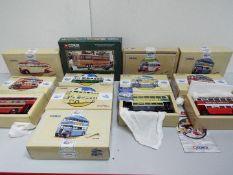 Corgi - Ten x Bus and Coach Models - # 97199, # 97184, # 35301, # 97192, # 97208, # 97199, # 97232,