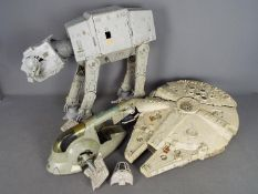 Star Wars, Kenner, LFL - Three unboxed vintage Star Wars vehicles.