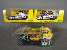 Spirit - SRC - 2 x Porsche 936 models and an SRC Porsche 907K.