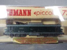 Fleischmann - A boxed Fleischmann #7360 N gauge electric locomotive 15001 in SNCF livery.