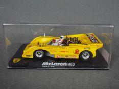 Vanquish Miniaturas - McLaren M8D 1974 Can Am car # CA7.