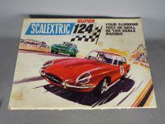 Scalextric - Super 124 Set with Jaguar E Type and Alfa Romeo GT # Set 200.