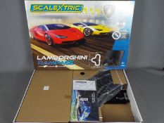 Scalextric - Incomplete Lamborghini Rampage set # C1386F. The cars are missing from this set.