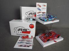 Revoslot - 2 x Ferrari F333SP models,