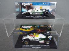 Flyslot - 2 x Williams slot cars,