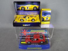 Scalextric - Ford GT40 and Ford RS200 limited edition models.