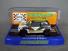 Scalextric - Mini Cooper SLN limited edition model # C3496.