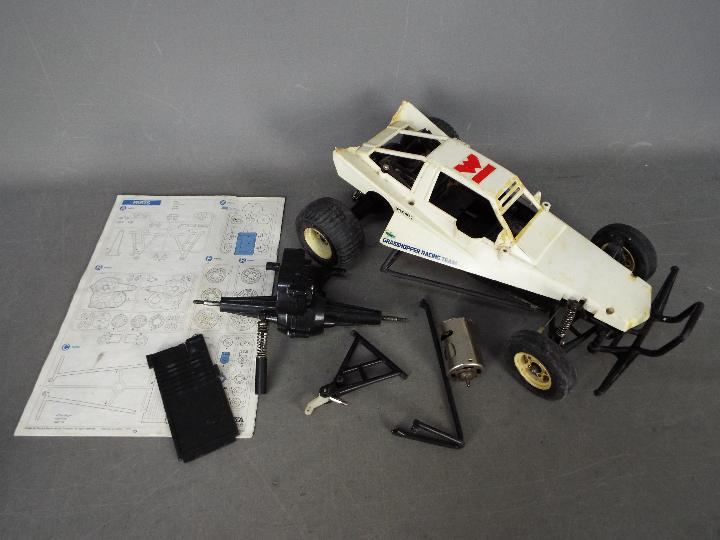 Tamiya - A part assembled and incomplete vintage 1984 release Tamiya 1:10 scale R/C 'The