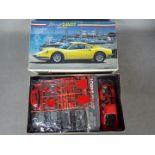 Fujimi - A boxed 1:24 scale Fujimi #17 Ferrari Dino 246 GT Early Type plastic model kit.