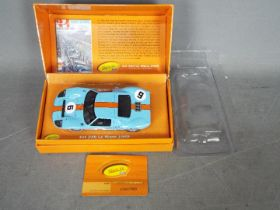Slot-it - A limited edition Ford GT40 in Gulf livery which won the 1969 Le Mans driven by Jacky