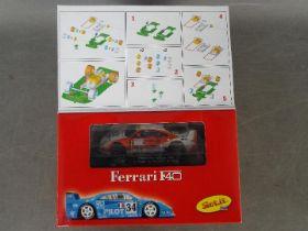 Slot-it - A Ferrari F40 self assembly model kit # KF02D.