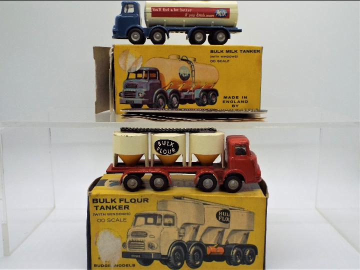 Budgie Toys - two boxed diecast commercial vehicles from Budgie Toys.