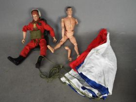 Action Man, Palitoy - Two unboxed vintage Action Man figures.