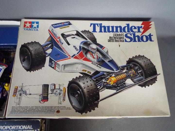 Tamiya - An assembled and boxed vintage Tamiya #58067 1:10 scale R/C 'Thunder Shot' High - Image 4 of 4