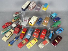Dinky Toys, Corgi Toys, Other - A collection of approximately 30 diecast model vehicles.