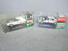 SRC - Slot Racing Company - 2 x Ford Capri racing models,